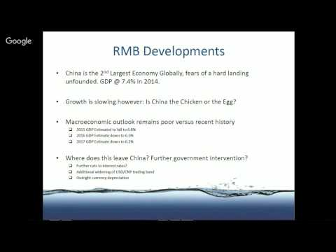 SOSV Webinar Series: The Future of the Renminbi