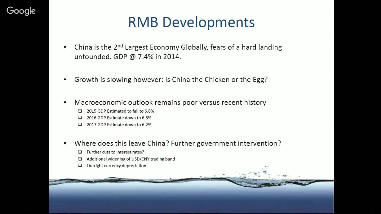SOSV Webinar Series: The Future of the Renminbi