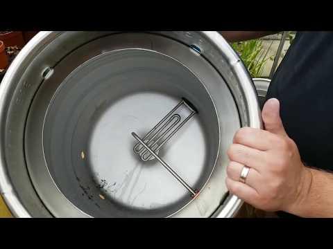 Heating element controller brewing