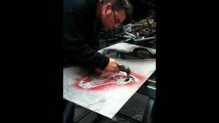Plasma Cutting metal art