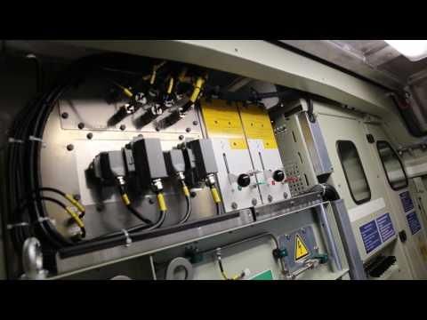 Inside a Bombardier TRAXX MS electric locomotive