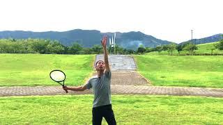 テニス サーブ トスを安定させるには 窪田テニス教室