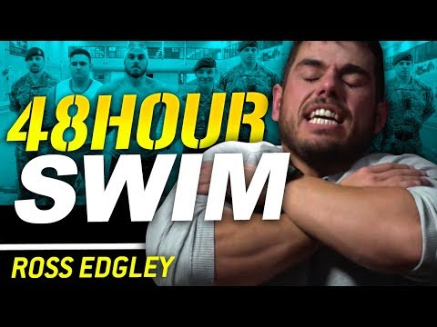 48 HOUR 126km SWIM WITH THE ROYAL MARINES - Ross Edgley | London Real