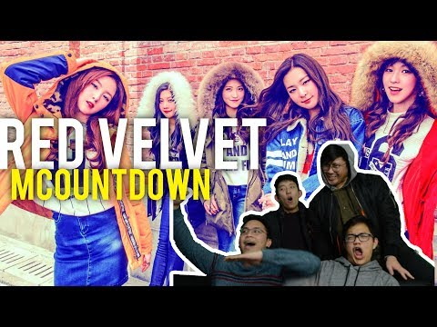 RED VELVET ON MCOUNTDOWN (live stage reaction)   YOU BETTER KNOW AND RED FLAVOR