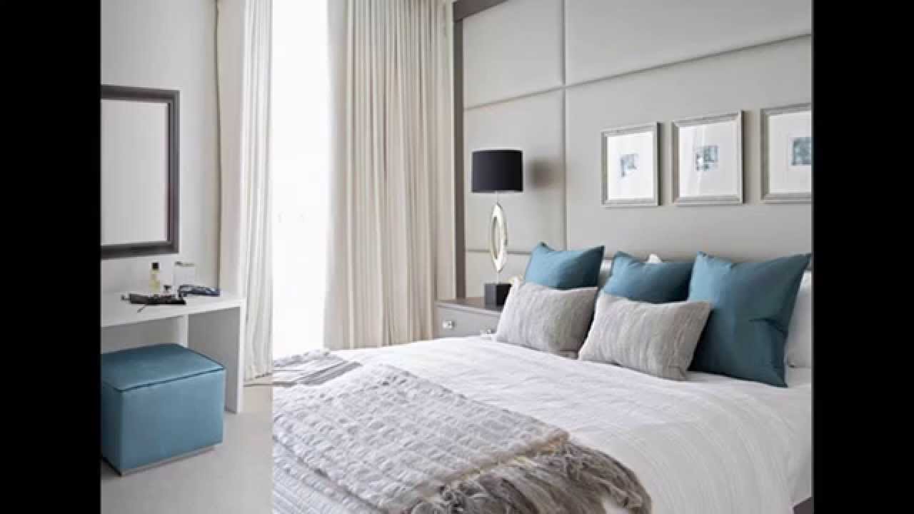 White Grey And Teal Bedroom | Home design ideas