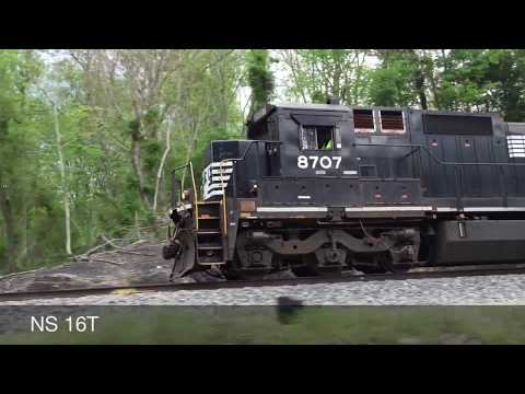 Norfolk Southern Train Catches Fire