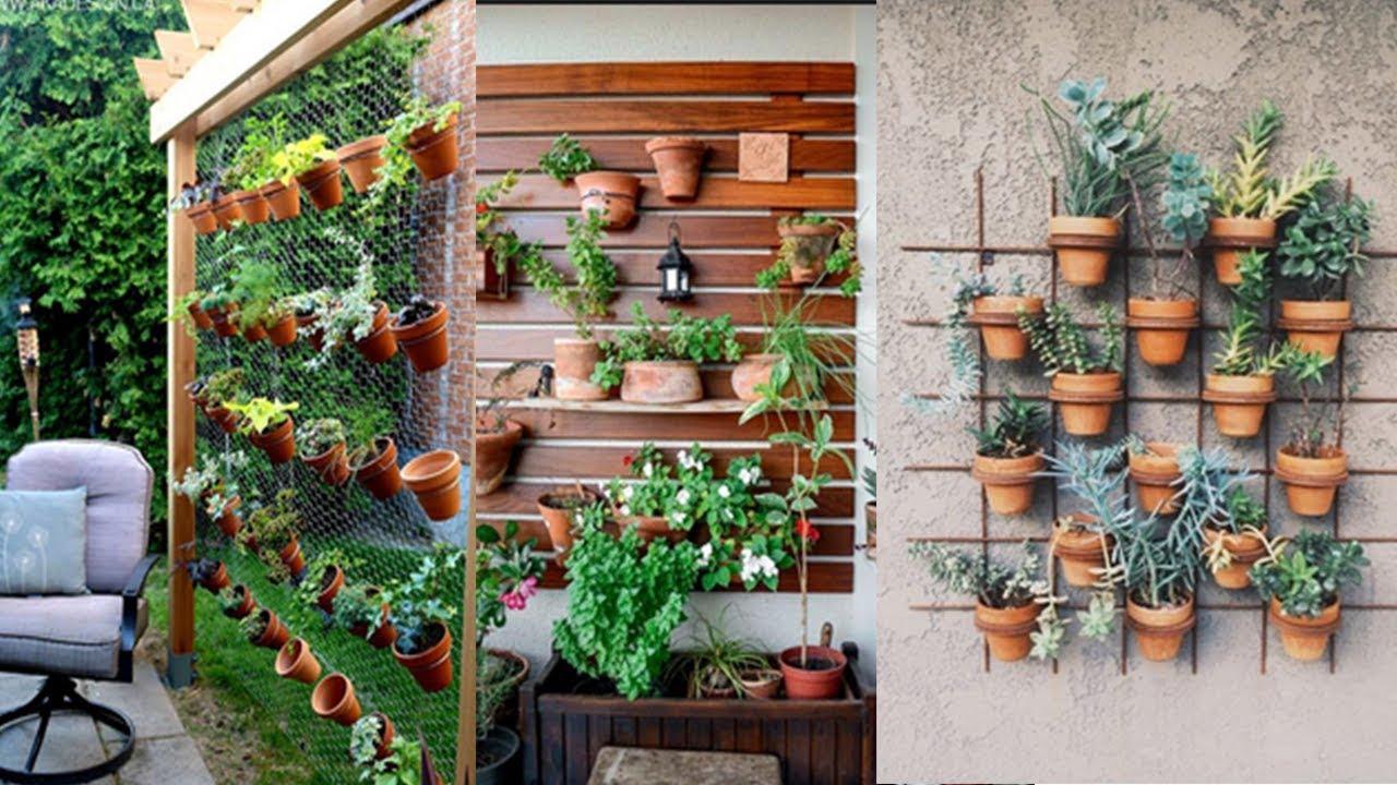 DIY vertical garden design - YouTube