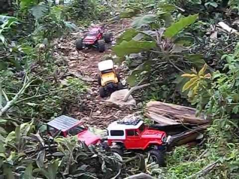 Toyotas fj40, rubicon y summit rc