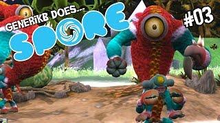 "Spore Ep 03 - ""Meet My New Killing Machine!!!"""