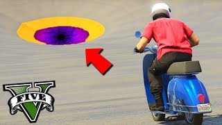 GTA V Online: SKILL TEST NO BURACO com LAMBRETA!!! (MINI Parkour)