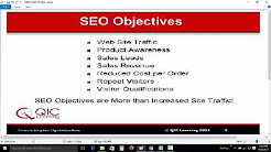 Objectives of Search Engine Optimization