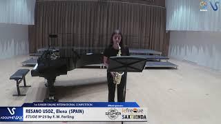 Elena Resano Uroz  – Etude Ferling 25