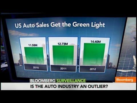 Auto Sales Driving U.S. to Economic Recovery