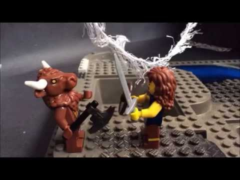 Theseus and The Minotaur Year 5 Lego animation
