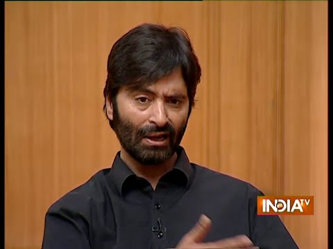 Aap Ki Adalat: Yasin Malik Answers On Why He Doesn't Participate In Election - India TV