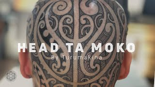 TA MOKO by Turumakina // Maori Head Tattoo