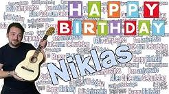 Geburtstagslied für Niklas- Happy Birthday Niklas- Niklas Geburtstagssong