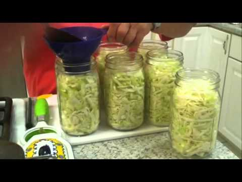 videos on how to make homemade sauerkraut