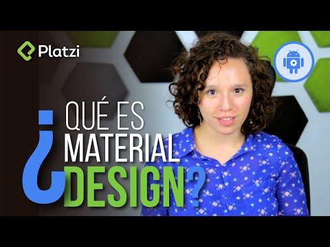 Diseño para aplicaciones android explicado con manzanas | Material Design