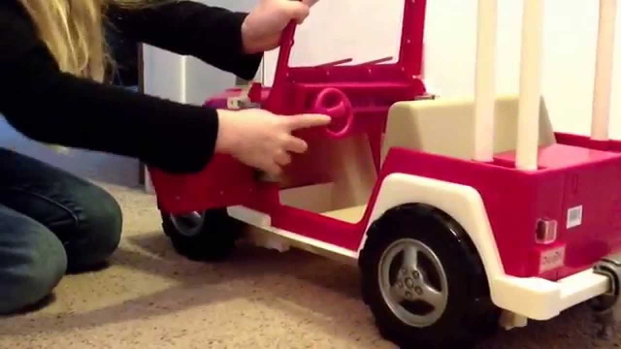 Our Generation Doll Car Jeep And Rv Camping Trailer