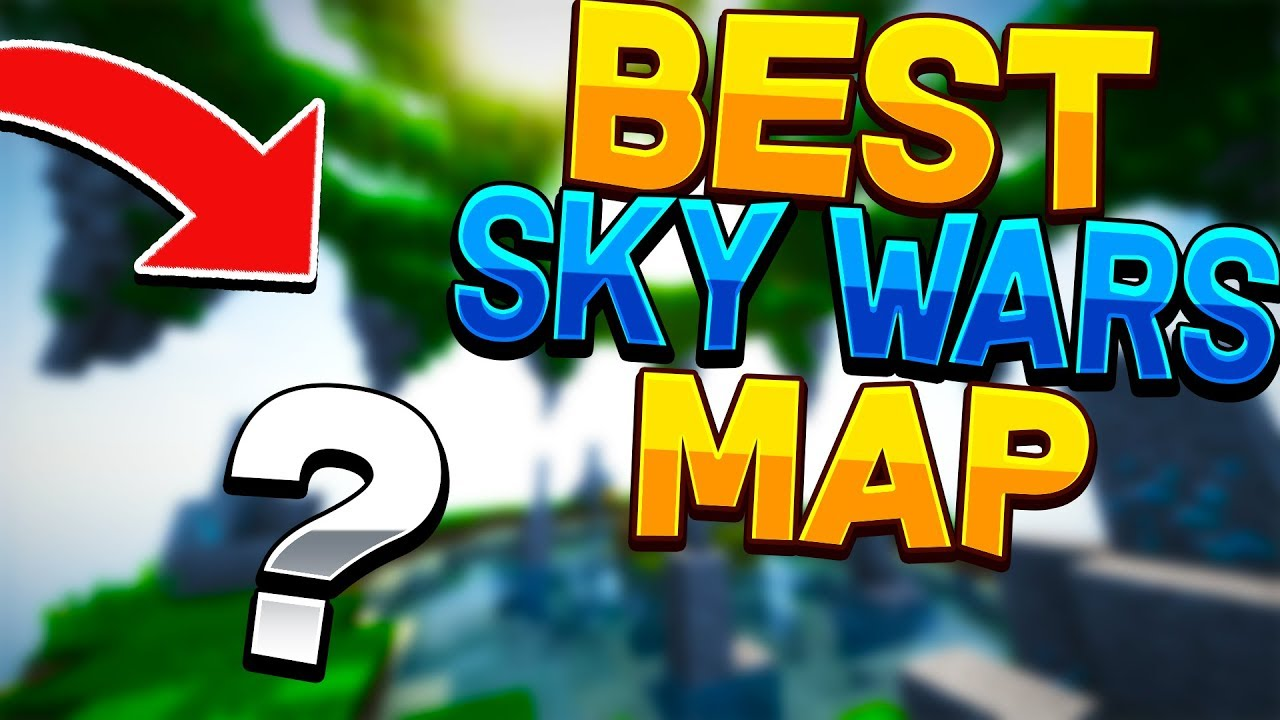 THE BEST MAP IN HYPIXEL SKYWARS?!? (NEW UPDATE)
