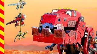 Динозавры мультфильм. Камаз мультики Робот. Машинки роботы. Грузовик, Трактор, Кран, Камаз, Роботы