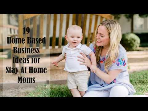 19 Home Based Business Ideas for Stay At Home Moms | Sameer Gudhate. http://bit.ly/2Q6cQQf