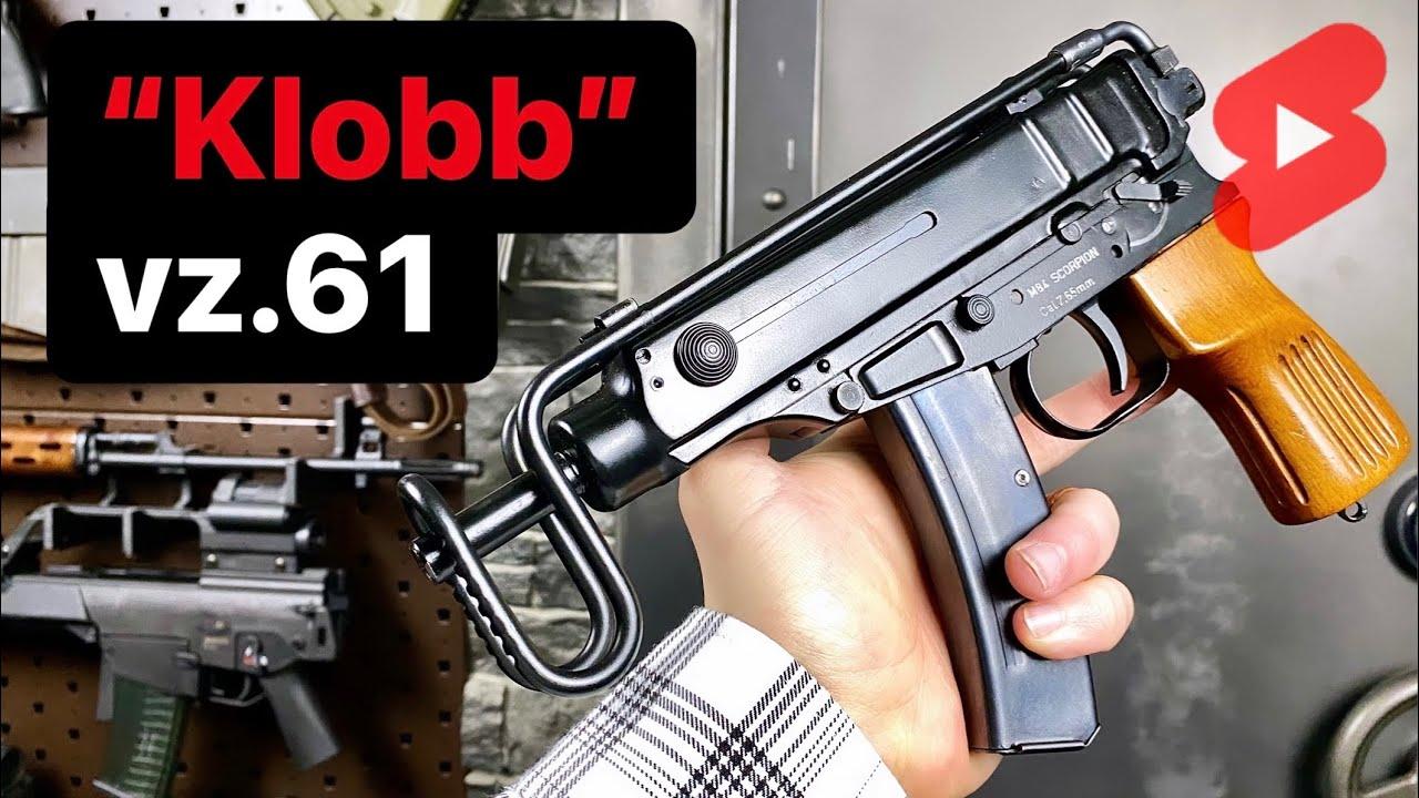 Klobb or Škorpion? 🇨🇿 vz.61 Machine Pistol in 1 Minute #Shorts