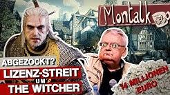 Geldgier oder gutes Recht? CD Projekt Red und Witcher-Autor im Lizenzstreit | Montalk #6