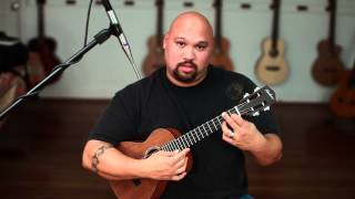 """Ukulele Lessons w/ Aaron """"Fly Me to the Moon""""- part1 Lyle Ritz version"""
