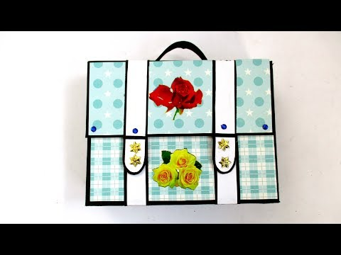 How To Make Album Bag Valentine's Special Gift | Full Tutorial By Sugi Majhi