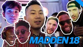 HUGE GAMER PARTY FOR MADDEN 18