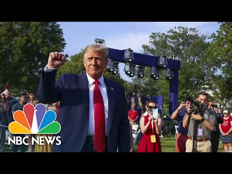 Trump Stokes Divisions As The Pandemic Continues To Grow  Meet The Press  NBC News