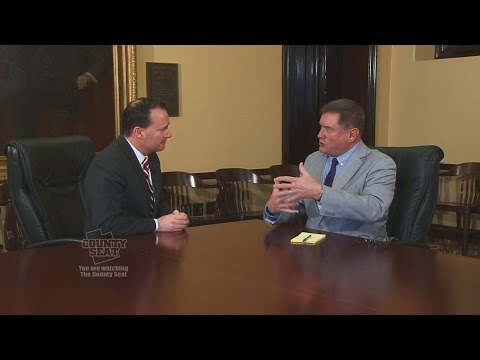 The County Seat   one on one with Sen Mike Lee