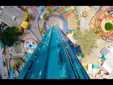 [HD] Falconu0027s Fury   POV : Busch Gardens (Tampa, FL)
