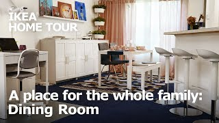 An Inviting Dining Room Makeover - IKEA Home Tour (Episode 409)