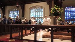 Processional at St. John's Episcopal Cathedral, Jacksonville, FL