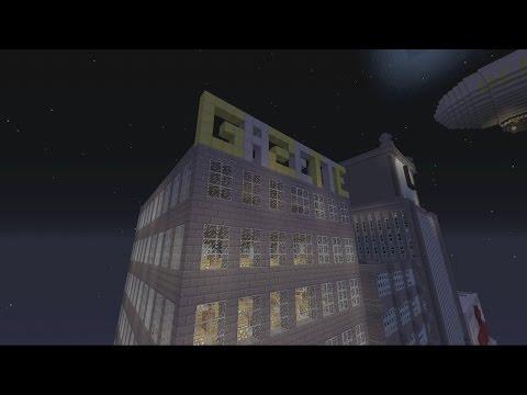 Minecraft Gotham City: Gotham Gazette