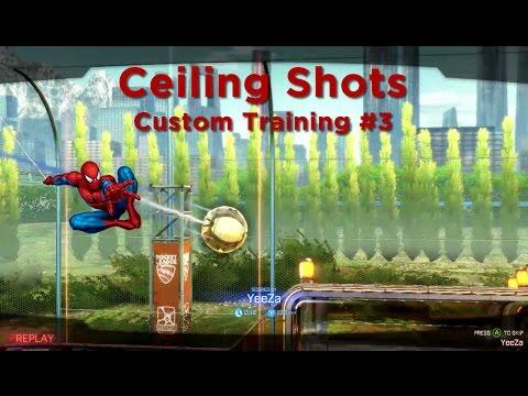 Ceiling Shots - Rocket League Custom Training Pack