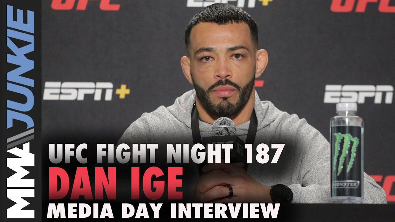 Download Dan Ige targets 'clean kill' of Gavin Tucker   UFC Fight Night 187