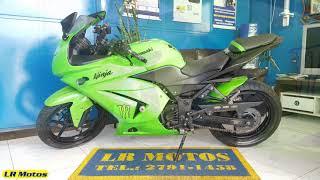 LR Motos   Revisão de Moto Concluída da Kawasaki Ninja 250R Verde   2971