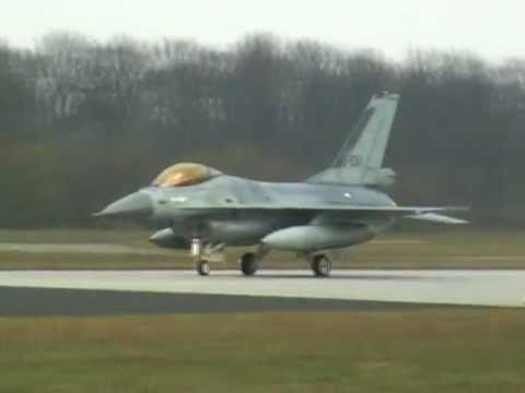Twenthe Airbase F-16's depart to Chile April 5th 2007