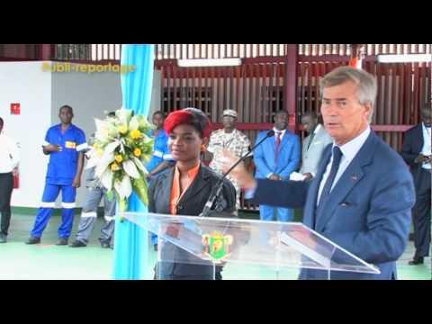 Reportage Bus électriques - Blue Bus - BOLLORE AFRICA LOGISTICS - 2013