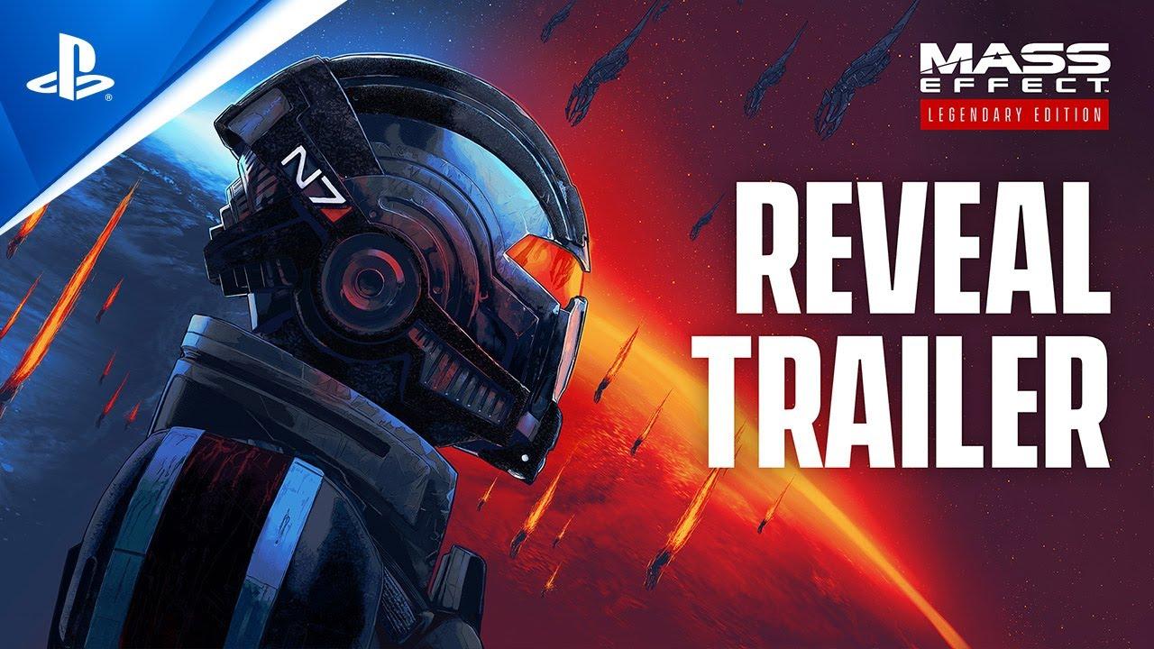 Mass Effect Легендарно издание - официален разкриващ трейлър