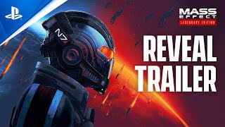 Mass Effect Legendary Edition - Official Reveal Trailer | PS5, PS4