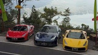 Ferrari Jakarta Driving event - Esperienza Ferrari in Bali, Indonesia