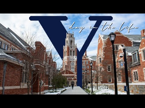 DAY IN THE LIFE OF A YALE STUDENT
