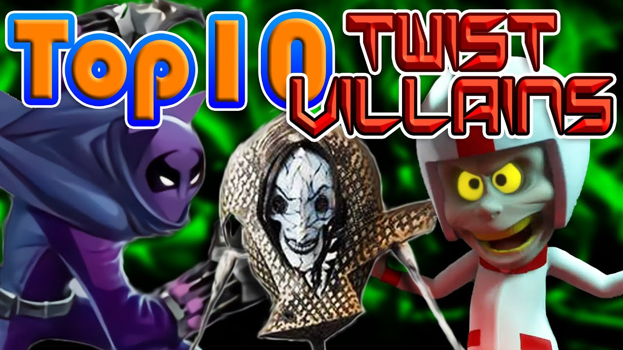 Top 10 Twist Villains in Animated Films