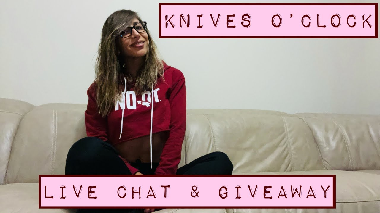 Knives o' Clock: Live Chat and Giveaway!