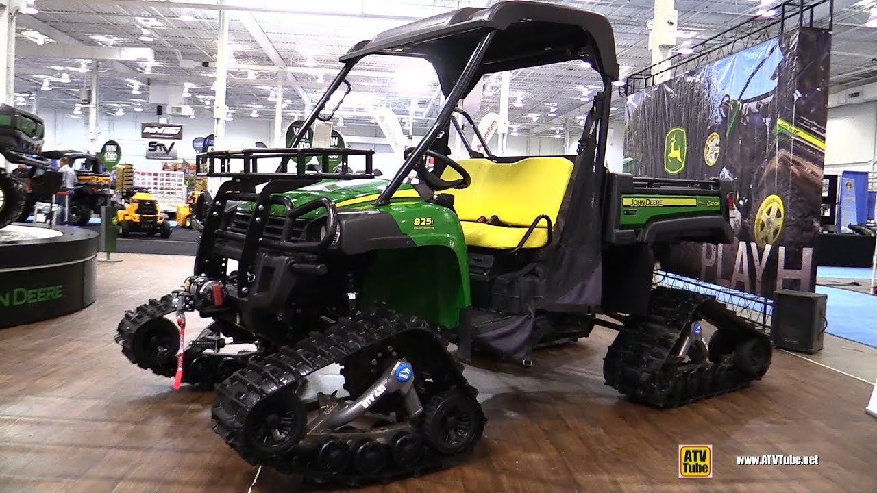 2018 John Deere Gator Xuv 825 I With Camso Snow Track Kit